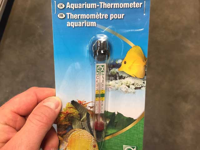 Aquarium Thermometer Varianten