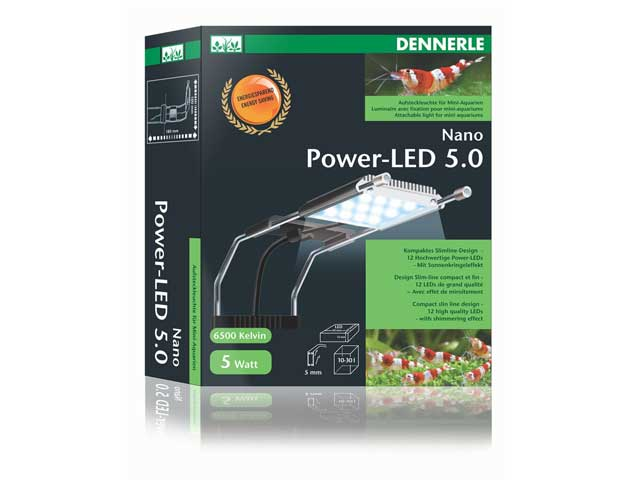 Aquarium LED Beleuchtung Dennerle Nano Power LED 5.0 Test