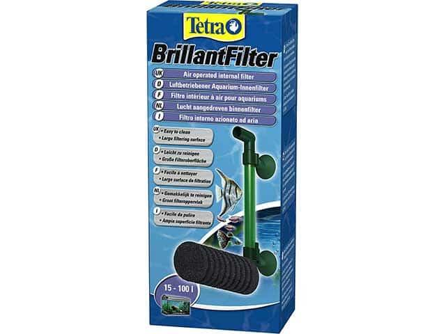 Produktvorstellung: Tetra Brillant Filter – luftbetriebener Innenfilter mit Schaumstoffpatrone
